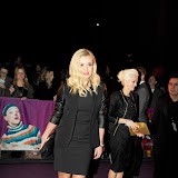 WWW.ENTSIMAGES.COM -  Katherine Jenkins arriving  at  Cirque Du Soleil: Kooza VIP Royal Albert Hall London January 8th 2013                                                       Photo Mobis Photos/OIC 0203 174 1069