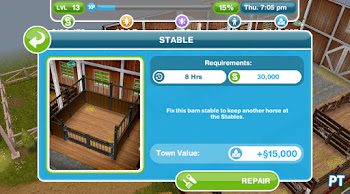 Need for Steed Stable - The Sims FreePlay