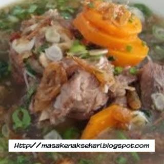 Cara Membuat Sup Daging Sapi