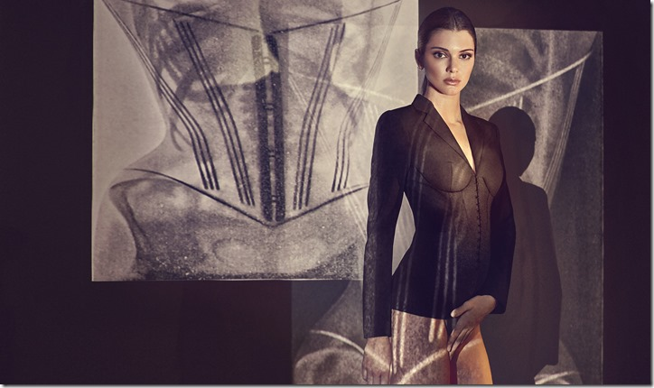 KENDALL JENNER CAMPAIGN IMAGE