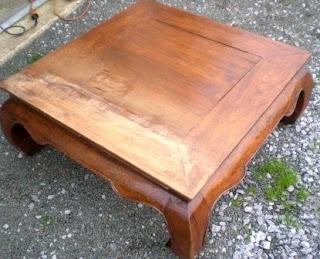 Les secrets de famille table basse opium for Table basse opium carre