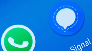 सिग्नल ऐप ने व्हाट्सऐप की बजाई बैंड