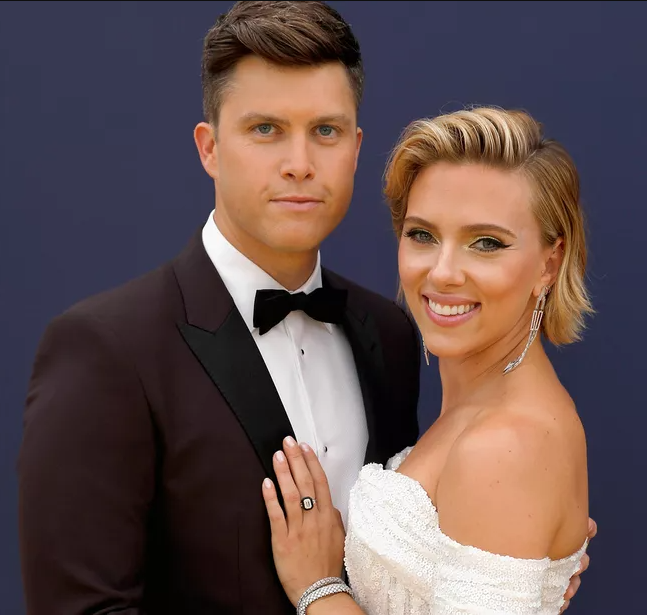"""""""We're excited,"""" Colin Jost confirms wife Scarlett Johansson is pregnant"""