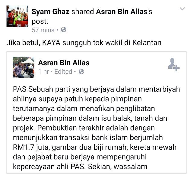 Kaki Fitnah Kerajaan Kelantan