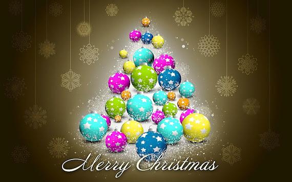 besplatne Božićne pozadine za desktop 1920x1200 free download blagdani Merry Christmas kuglice za bor