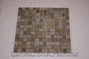 3/4x3/4, Flooring, Flooring & Mosaics, Interior, Mosaic, Natural, Pink, Quartzite, Stella Rosa, Stone, Tile