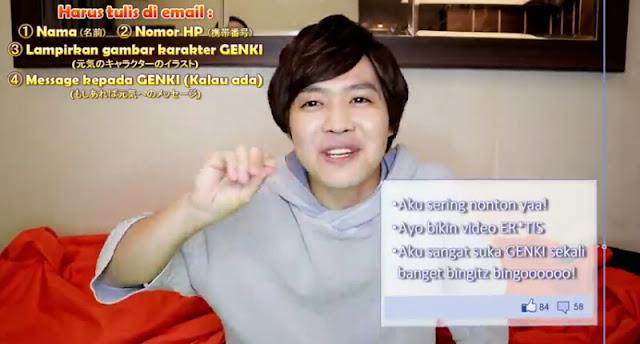 Pengen Nambah Uang Jajan? Buruan Ikuti Design Sticker LINE Competition Youtuber GENKI BANGET!