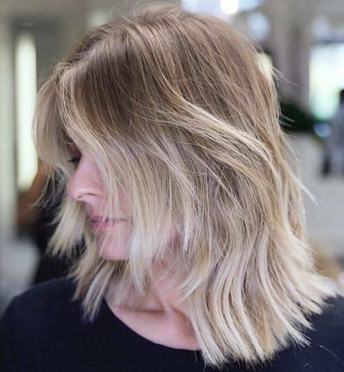 Medium layered universal haircuts to feature you 6