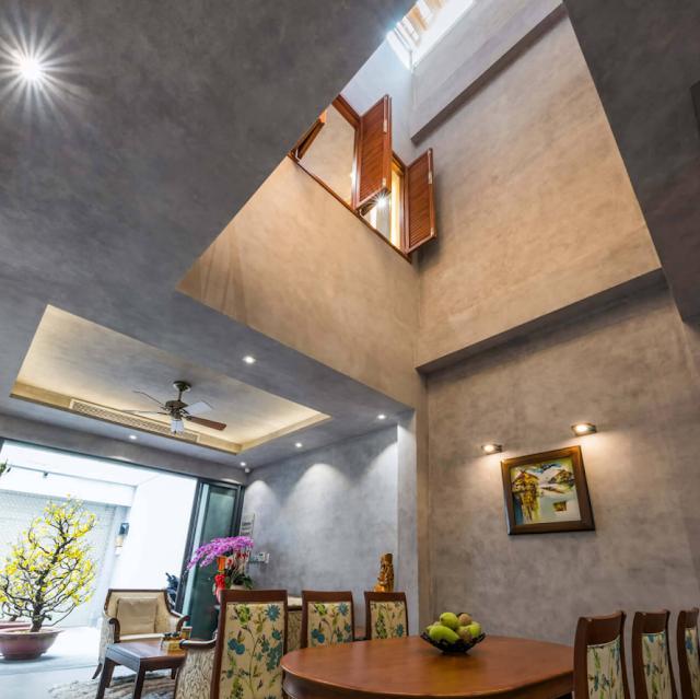 Thay đổi không gian sống thoáng sáng cho ngôi nhà 260m2 tại TP. Hồ Chí Minh