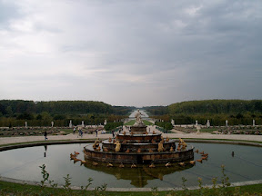The Fountain of Latona and Le Grand Canal, Château de Versailles