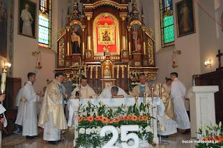25-lecie święceń kapłańskich ks. Kazimierza Borowca