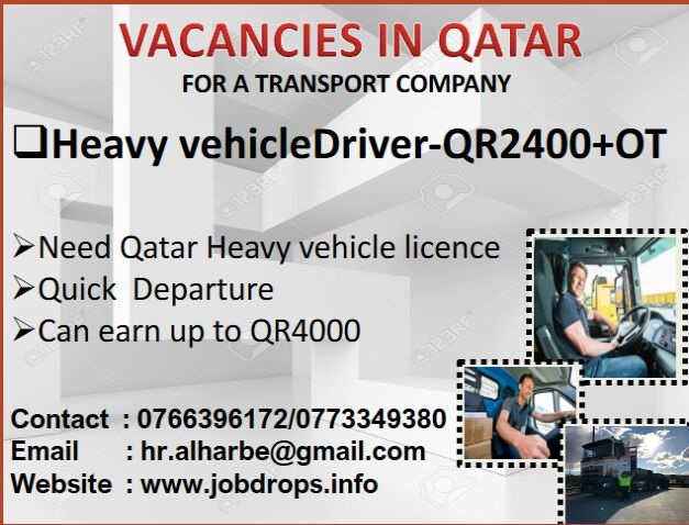 VACANCIES IN QATAR