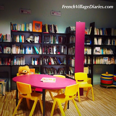 French Village Diaries volunteering library