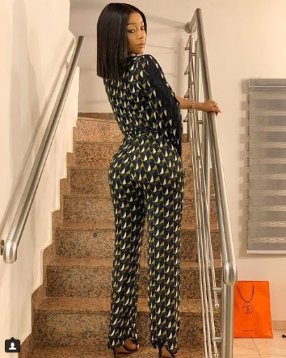 SPICY STURV!!! Toke Makinwa Poses With Her Ass In A New Photo 1