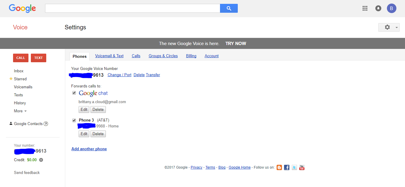 Busy Signal for incoming Google Voice Calls - Google Voice Help