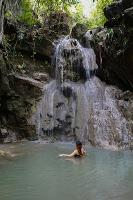 Waterfalls, Old Mining Site and Staff House in Naga, Cebu
