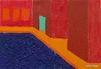 131 - Le toucher de Jean - 1993 19 x 27 - Acrylique sur toile