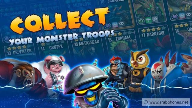 تحميل لعبة Monster Legends مهكرة من ميديا فاير
