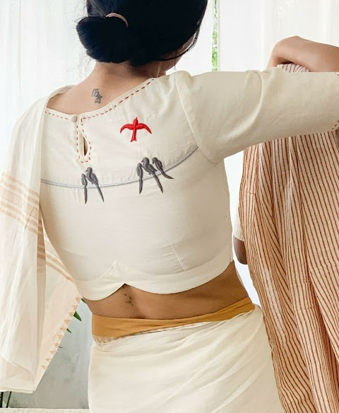 Uber Chic And Trendy Handloom Blouses for Summer's 2021!