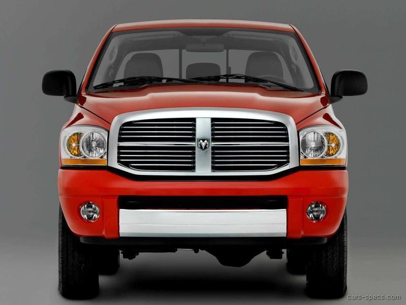 2007 dodge ram pickup 2500 mega cab specifications pictures prices. Black Bedroom Furniture Sets. Home Design Ideas