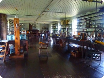 Thomas Edison's lab