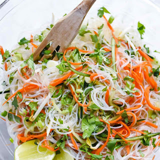 Fresh and Easy Vietnamese Noodle Salad.