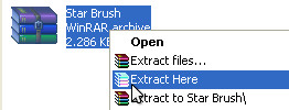 extract brush
