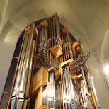 music box inside the Hallgrímskirkja in Reykjavik, Hofuoborgarsvaeoi, Iceland