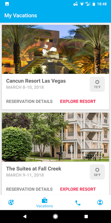 Diamond Resorts™- screenshot