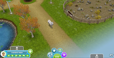 Sims FreePlay The Hidden Unicorn - Investigate Horse