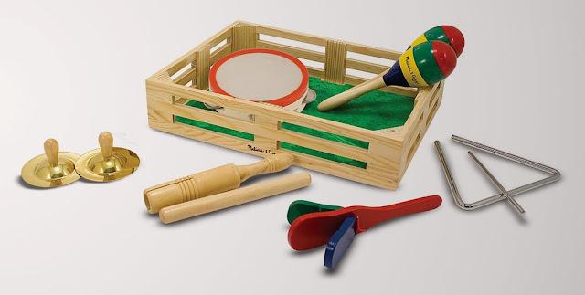 Nhạc cụ đồ chơi Ban nhạc vui nhộn Melissa & Doug Band in a Box