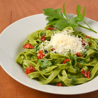 "Spinach ""Monster"" Pasta"