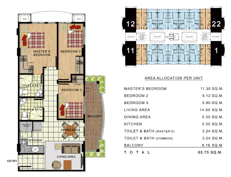 Linmarr Towers Davao 2 bedroom
