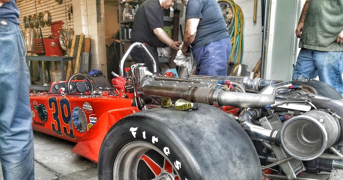 The A D D Garage 1972 Tipke Sneva Indy Car