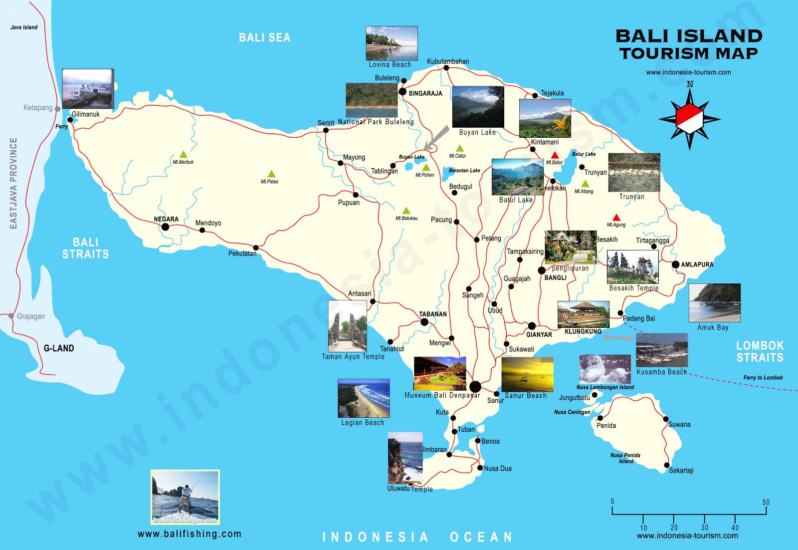 tour jakarta bali overland