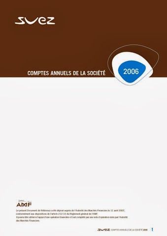 exécution rapport annuel