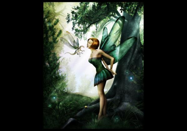 Fairy Kisses Dragon, Fairies Girls