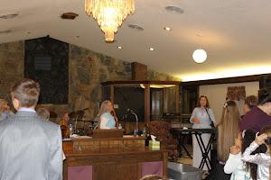 Susan ministering in Holden, LA