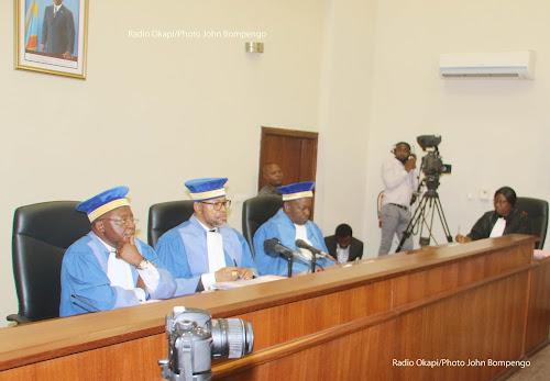 La Cour constitutionnelle déclare recevables les candidatures de Bandidanga et Ifoku, Muzito recalé
