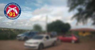 Capim Grosso: Polícia Militar encerra festa clandestina, apreende equipamentos sonoros e conduz pessoas a Delegacia por descumprimento do Decreto Estadual