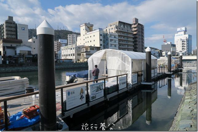 四國德島 葫蘆島周遊船 新町川水際公園 (6)