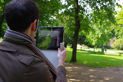 L/OBLIQUE : Visite de la Cité avec iPad