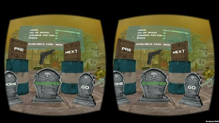 Zombie Shoot Virtual Reality APK screenshot thumbnail 1