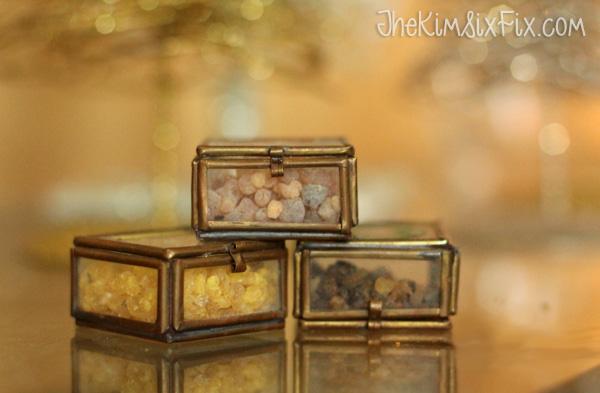 Gold frankensense myrrh