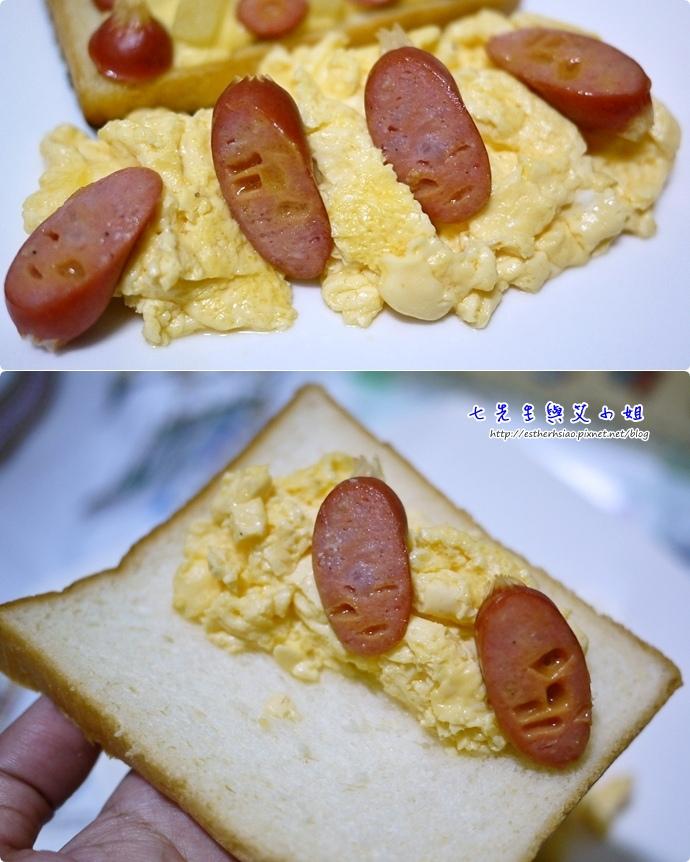12 西洋蛋香腸吐司