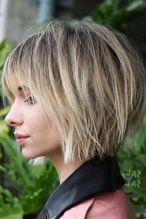 Layered Short Haircuts For Woman In 2018 3