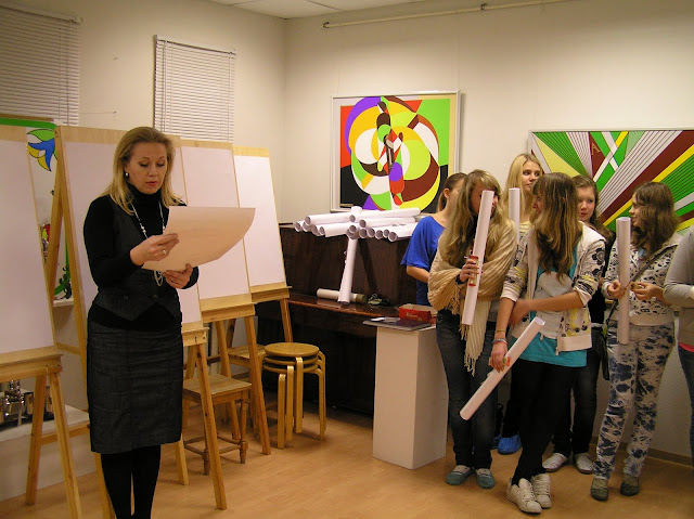 Kunstiosakonda sisseastunud laste pühitsemine - PB100333.JPG