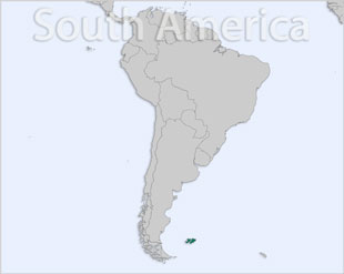 Falkland Islands location map