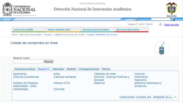 Cursos gratuitos de la Universidad Nacional de Colombia para estudiar online