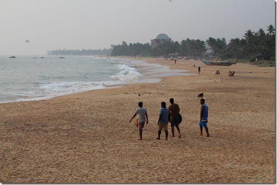 Додандува, пляж